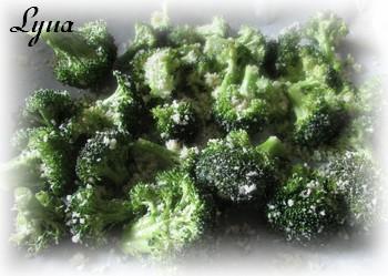 Brocoli rôti à l'ail et au parmesan Brocco10
