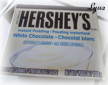 Glaçage avec pouding au chocolat blanc Glacag11