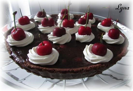 Tarte aux cerises fraîches et chocolat Pyte_c12