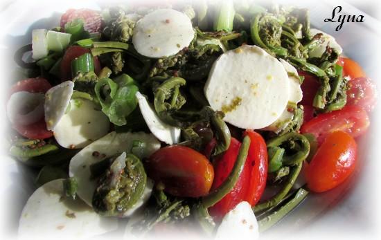 Salade de têtes de violon Salade12