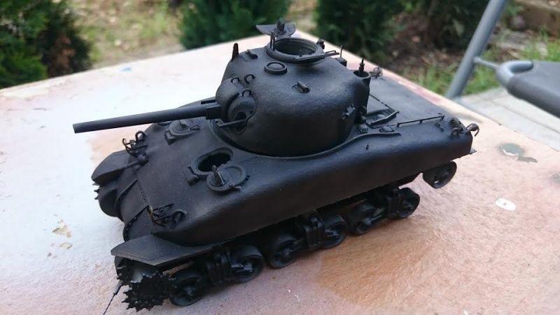 Sicile 1943 Opération Husky - Sherman M4A1 DV  Dragon 1/35 - Page 2 Sherm10