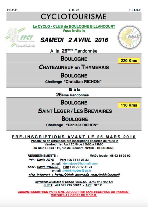 Cyclo - Boulogne B. // Château Neuf - Sam 2 Avril - 110/220k Captur11