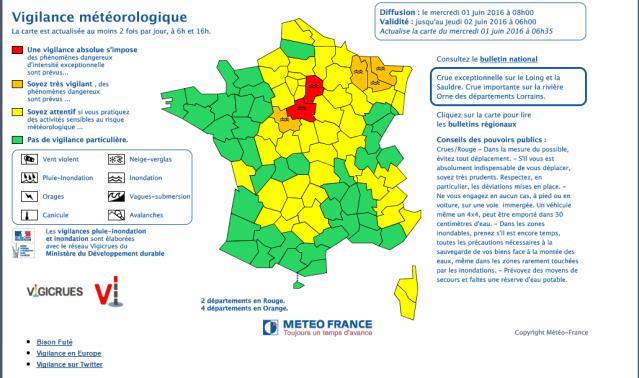 Vigilance Météo Seine et Marne Captur12