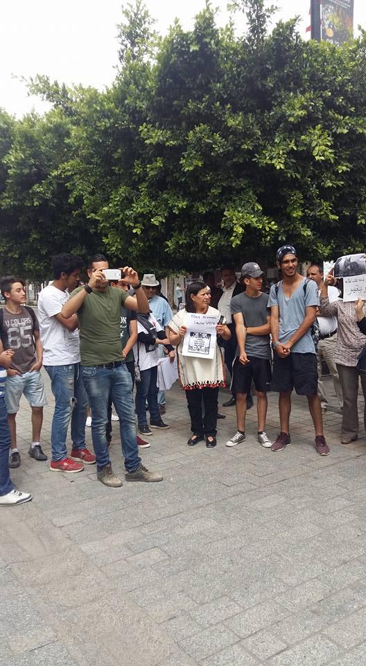 MASSACRES à CIEL OUVERT en Tunisie Manif_12
