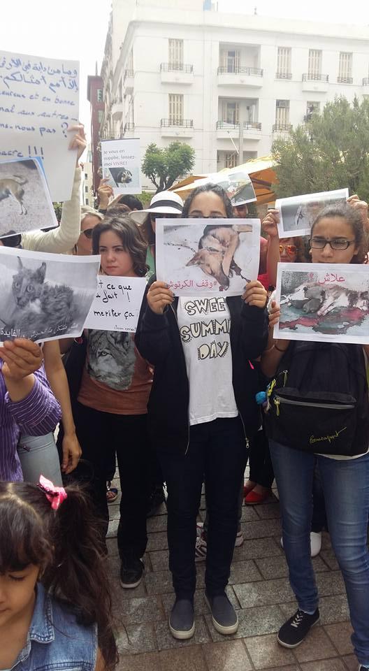 MASSACRES à CIEL OUVERT en Tunisie Manif_27