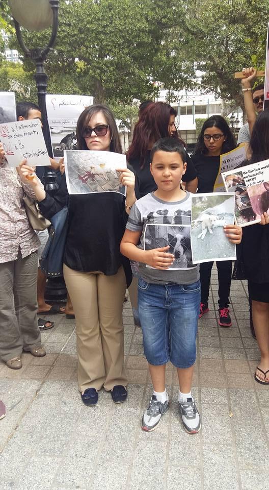 MASSACRES à CIEL OUVERT en Tunisie Manif_28