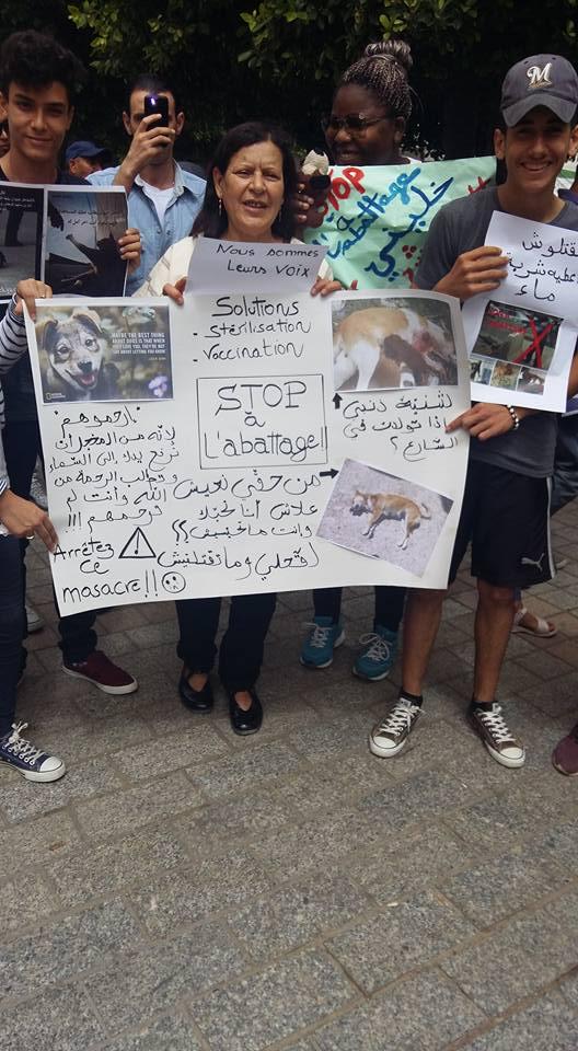 MASSACRES à CIEL OUVERT en Tunisie Manif_30