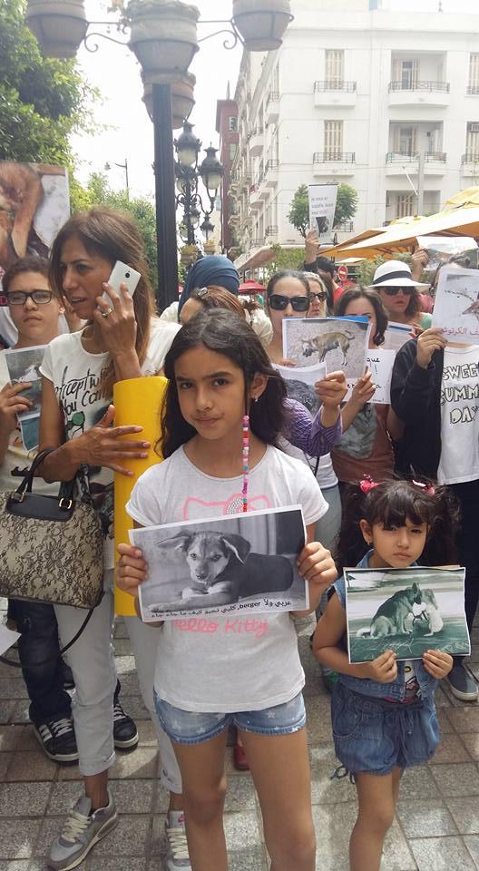 MASSACRES à CIEL OUVERT en Tunisie Manif_33