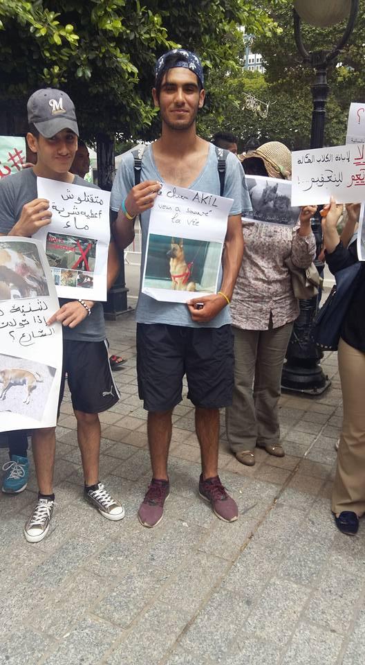 MASSACRES à CIEL OUVERT en Tunisie Manif_34