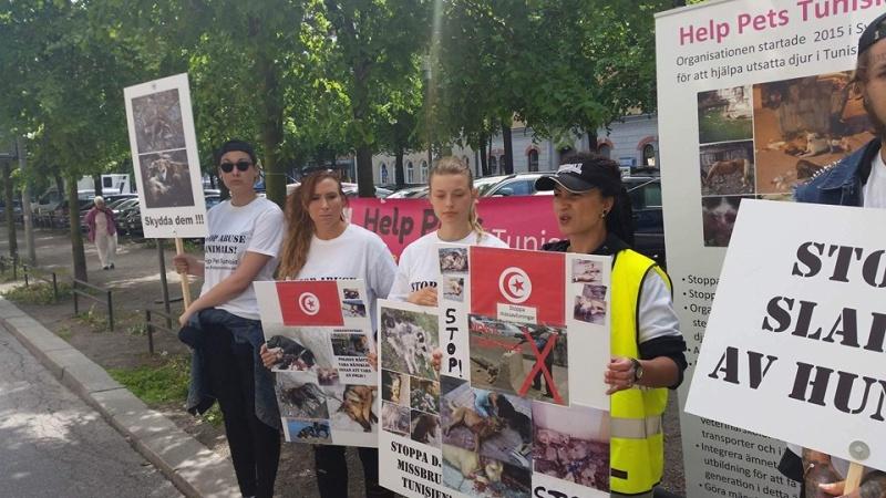 MASSACRES à CIEL OUVERT en Tunisie Manif_52