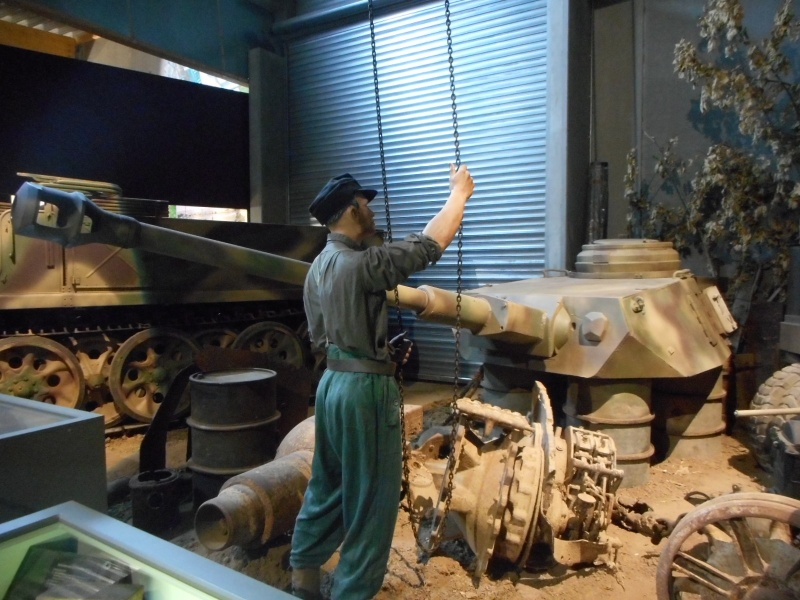 Overlord Museum  ( Colleville sur mer , Calvados / Normandie ) Dscn2741