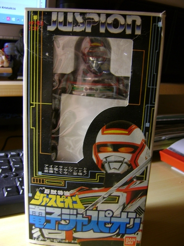 SPACE SHERIFF JUSPION - BANDAI 1985 Juspio10
