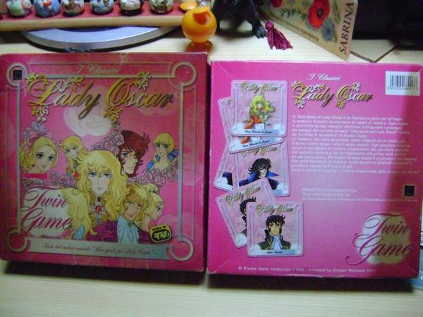 LADY OSCAR - VERSAILLES NO BARA TWIN GAME MEMORY by TESLA Ladyos11