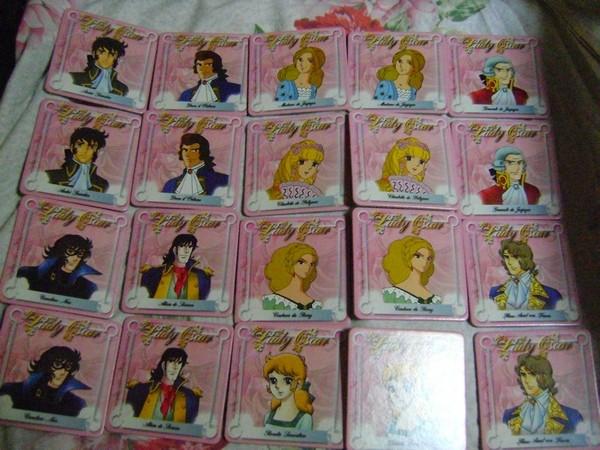 LADY OSCAR - VERSAILLES NO BARA TWIN GAME MEMORY by TESLA Ladyos14
