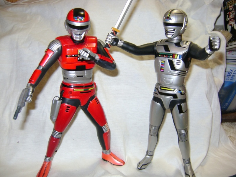 SPACE SHERIFF SHARIVAN + GAVAN by UNIFIVE 2003 Uchuuk12
