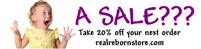 20% off sale real store Banner10