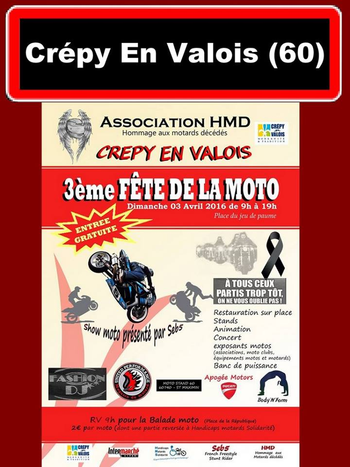 Balade Fête de la moto Crépy-en-Valois 15549_10