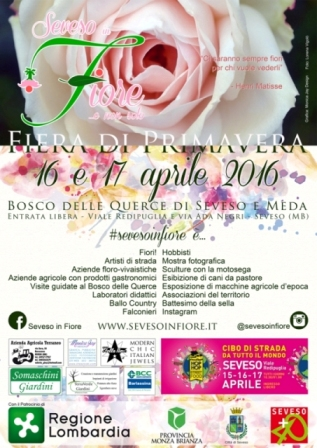 Seveso in fiore 2016 - Fiera di primavera - Street food 16/17 aprile - Lombardia Sevoso10