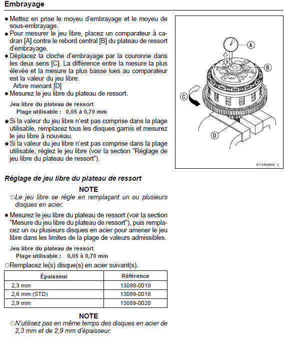 Remplacement embrayage complet Emb0210