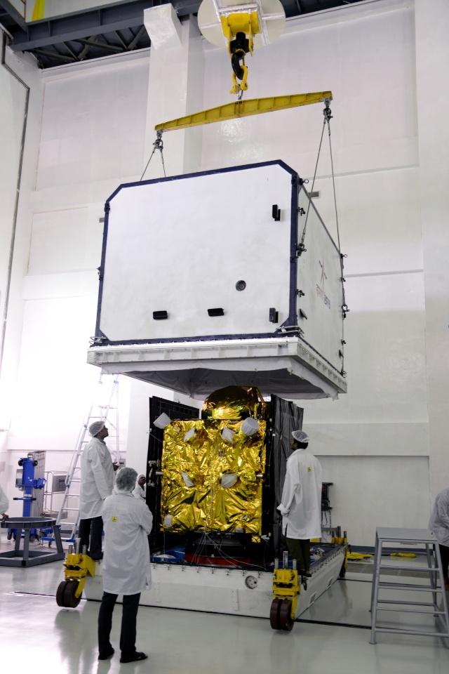 PSLV-XL C33 (IRNSS-1G) - SHAR - 28.4.2016  5-irns10