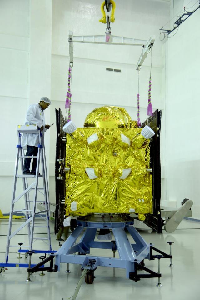 PSLV-XL C33 (IRNSS-1G) - SHAR - 28.4.2016  6-irns10