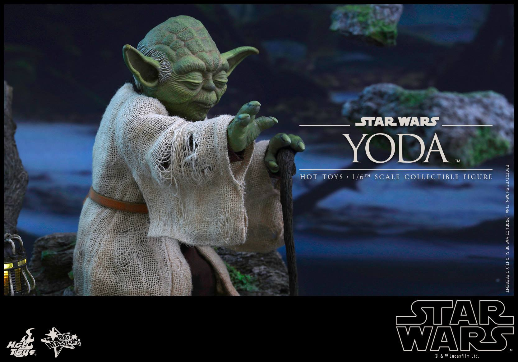 [STAR WARS] ESB - figurine YODA - HOT TOYS Hot-to43
