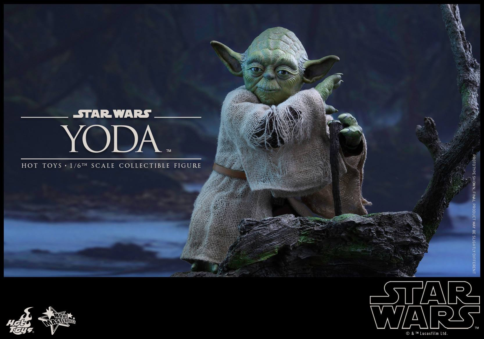 [STAR WARS] ESB - figurine YODA - HOT TOYS Hot-to45