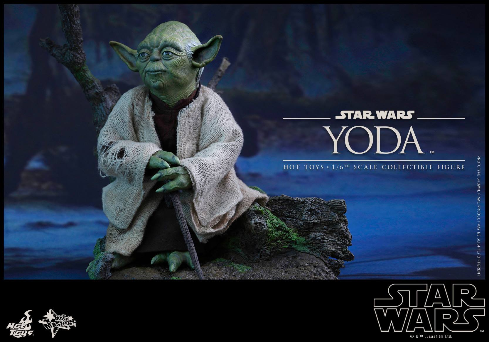 [STAR WARS] ESB - figurine YODA - HOT TOYS Hot-to49