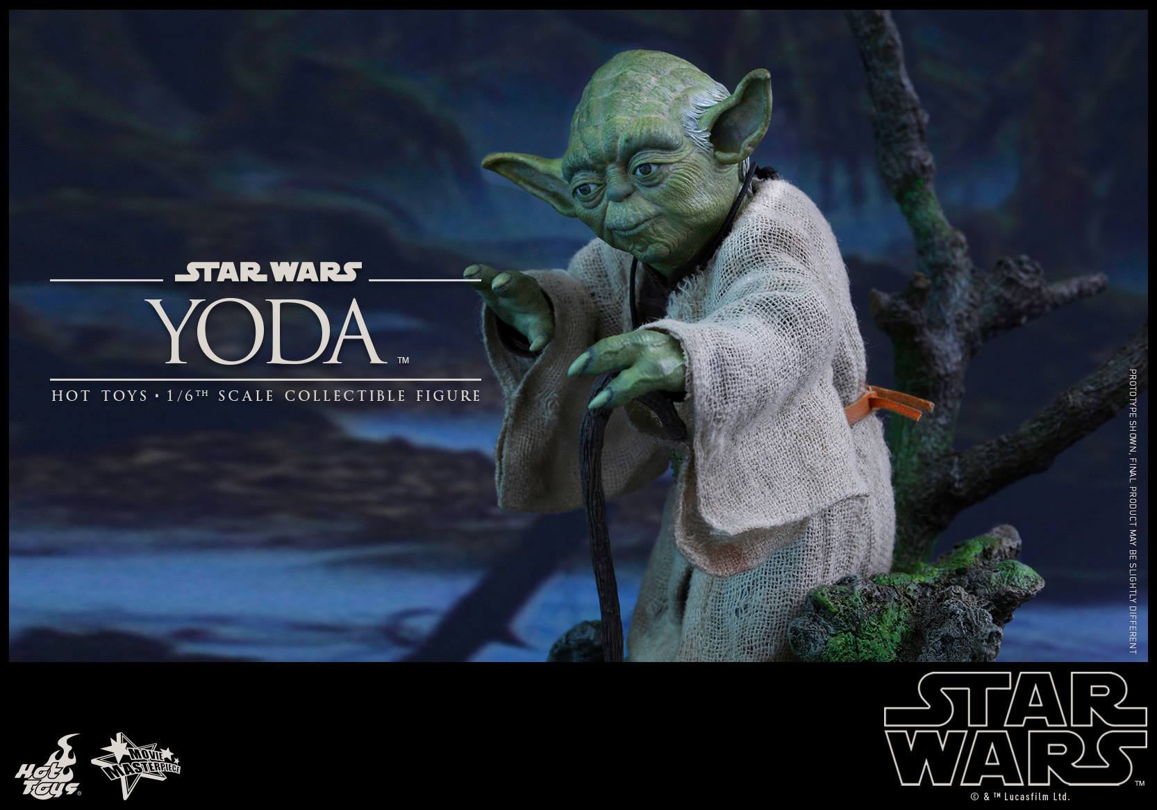 [STAR WARS] ESB - figurine YODA - HOT TOYS Hot-to50
