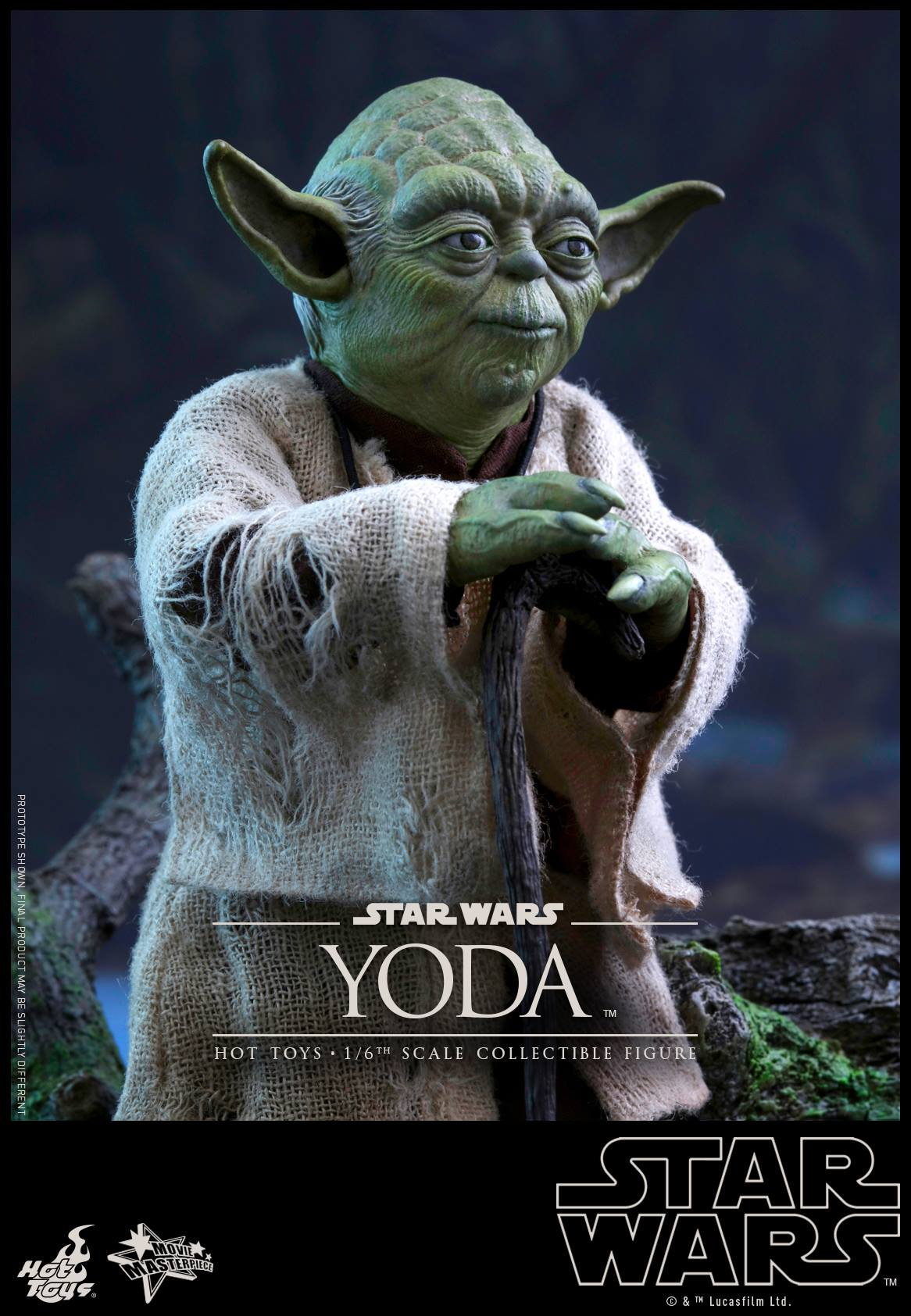 [STAR WARS] ESB - figurine YODA - HOT TOYS Hot-to53