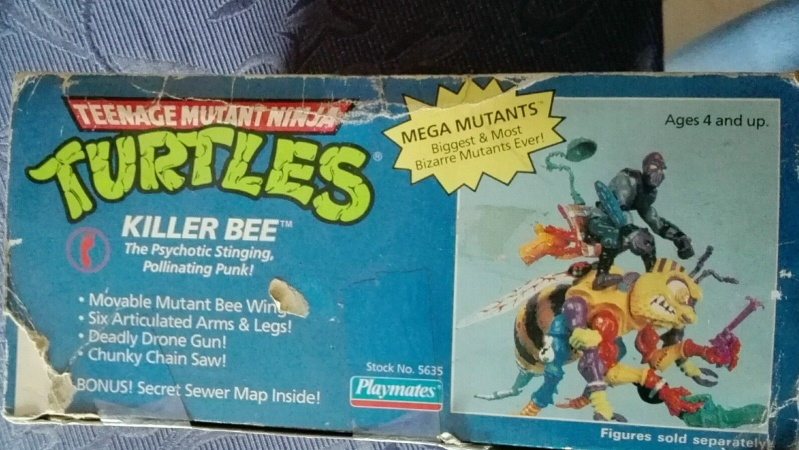 Tartarughe Ninja Teenage Mutant Ninja Turtles KILLER BEE e SHREDDER MOBILE Playmate/Bandai MISB _57_210