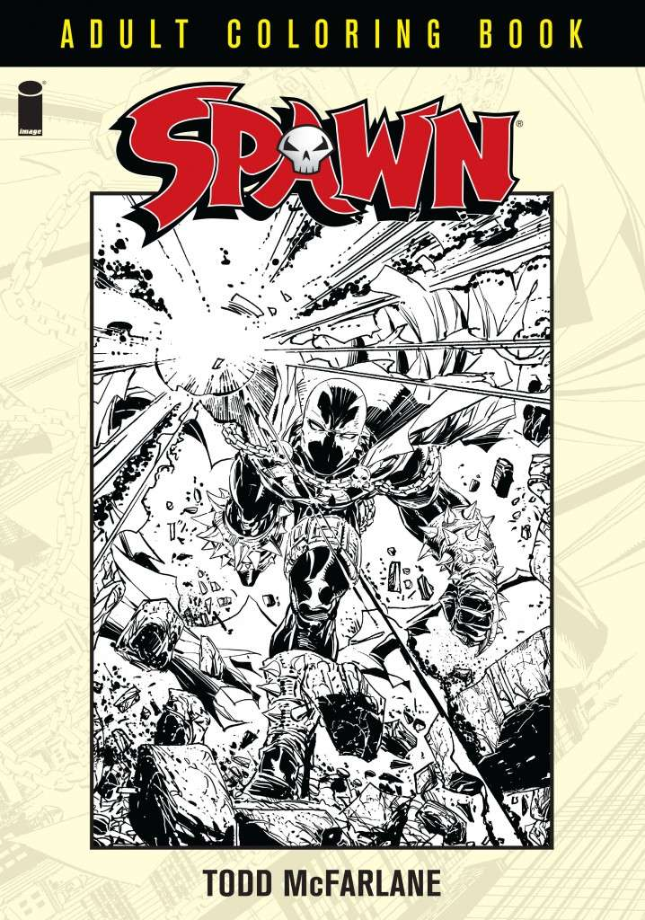 SPAWN: ADULT COLORING BOOK Spawna10