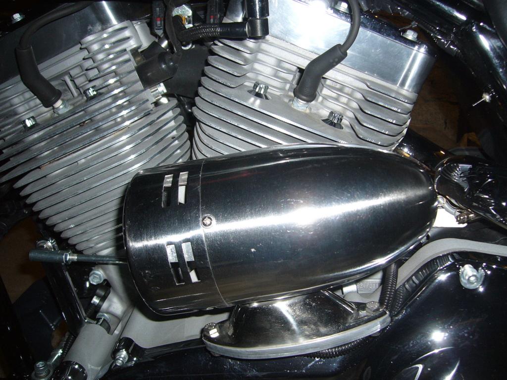 Pose d'un klaxon-sirène P1020711