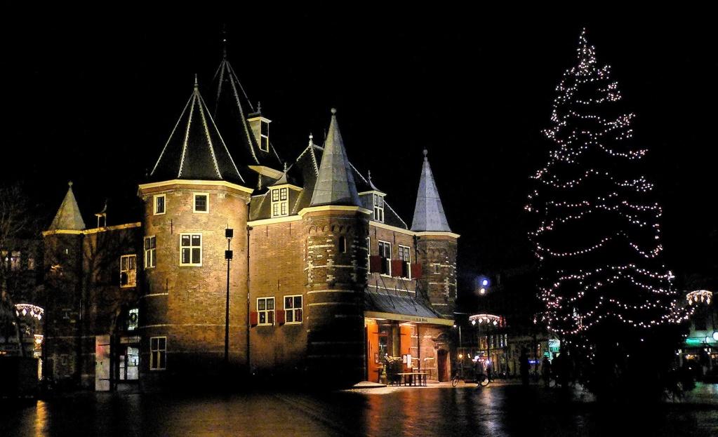 De Waag, Nieuwmarkt à Amsterdam, aux Pays-Bas. 81003910