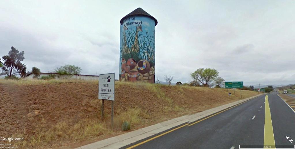 STREET VIEW : les fresques murales - MONDE (hors France) - Page 21 Fresqu12