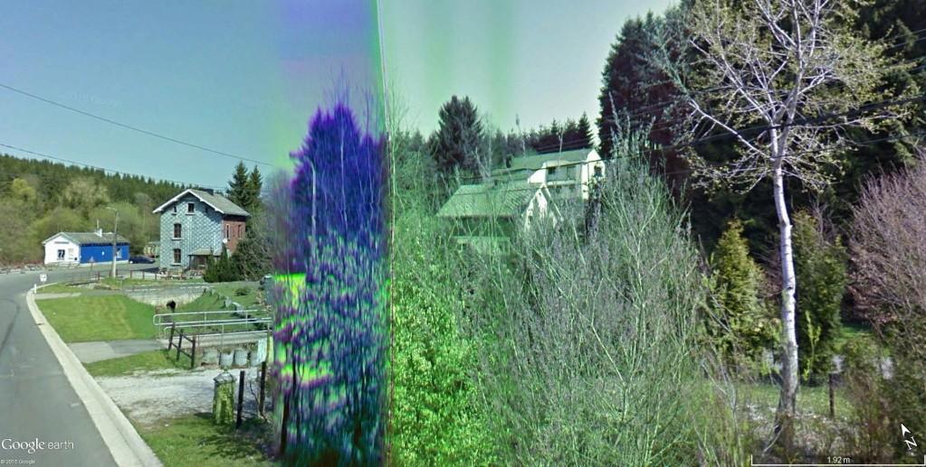 STREET VIEW : Bugs, collages, défauts dans l'image - Page 6 Gare_d11
