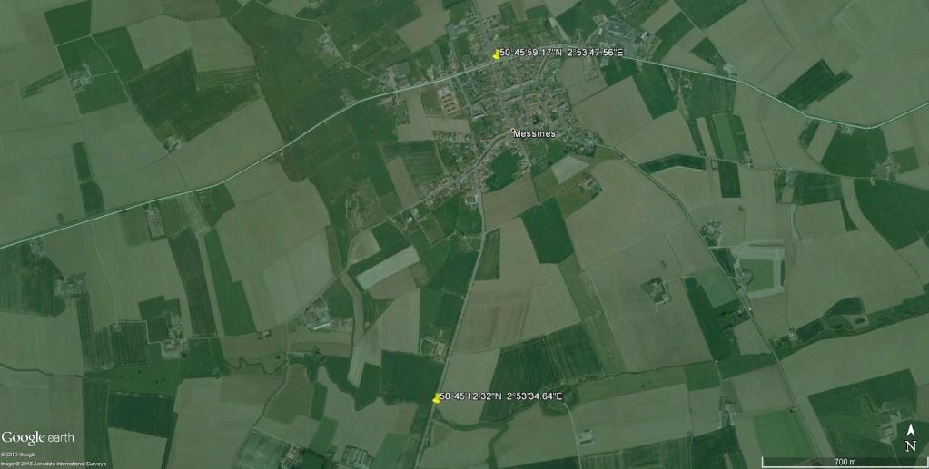 Limite entre le Hainaut et la Flandre Occidentale à Messines en Belgique. Hainau10