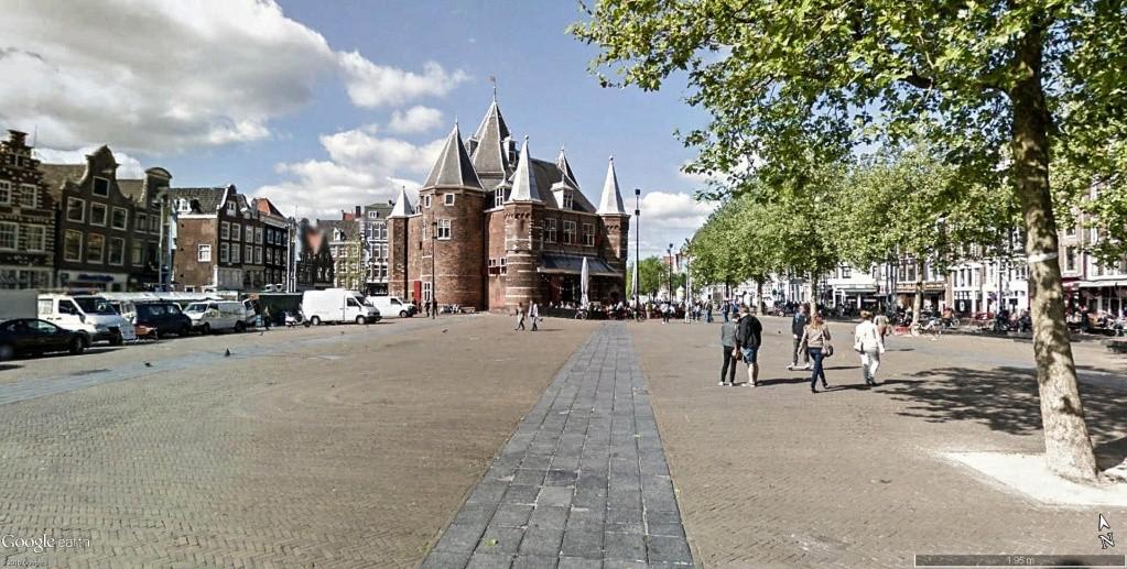 De Waag, Nieuwmarkt à Amsterdam, aux Pays-Bas. Sur_la10