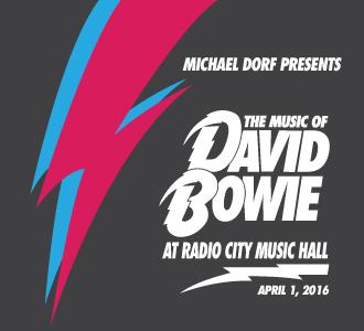 "4/1/16 - ""The Music Of David Bowie"", NYC, Radio City Music Hall 110"