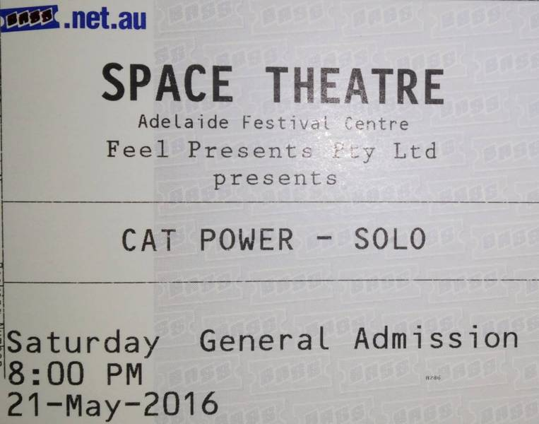5/21/16 - Adelaide, Australia, Space Theatre 117