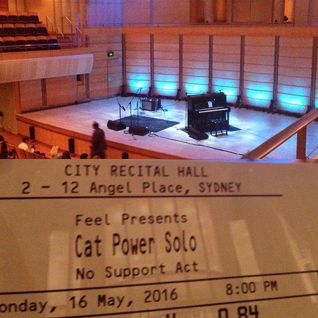 5/16/16 - Sydney, Australia, City Recital Hall 118