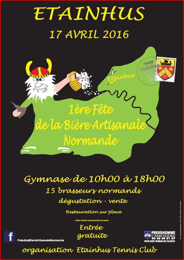 1 er fête  de la biere artisanale normande  12718010