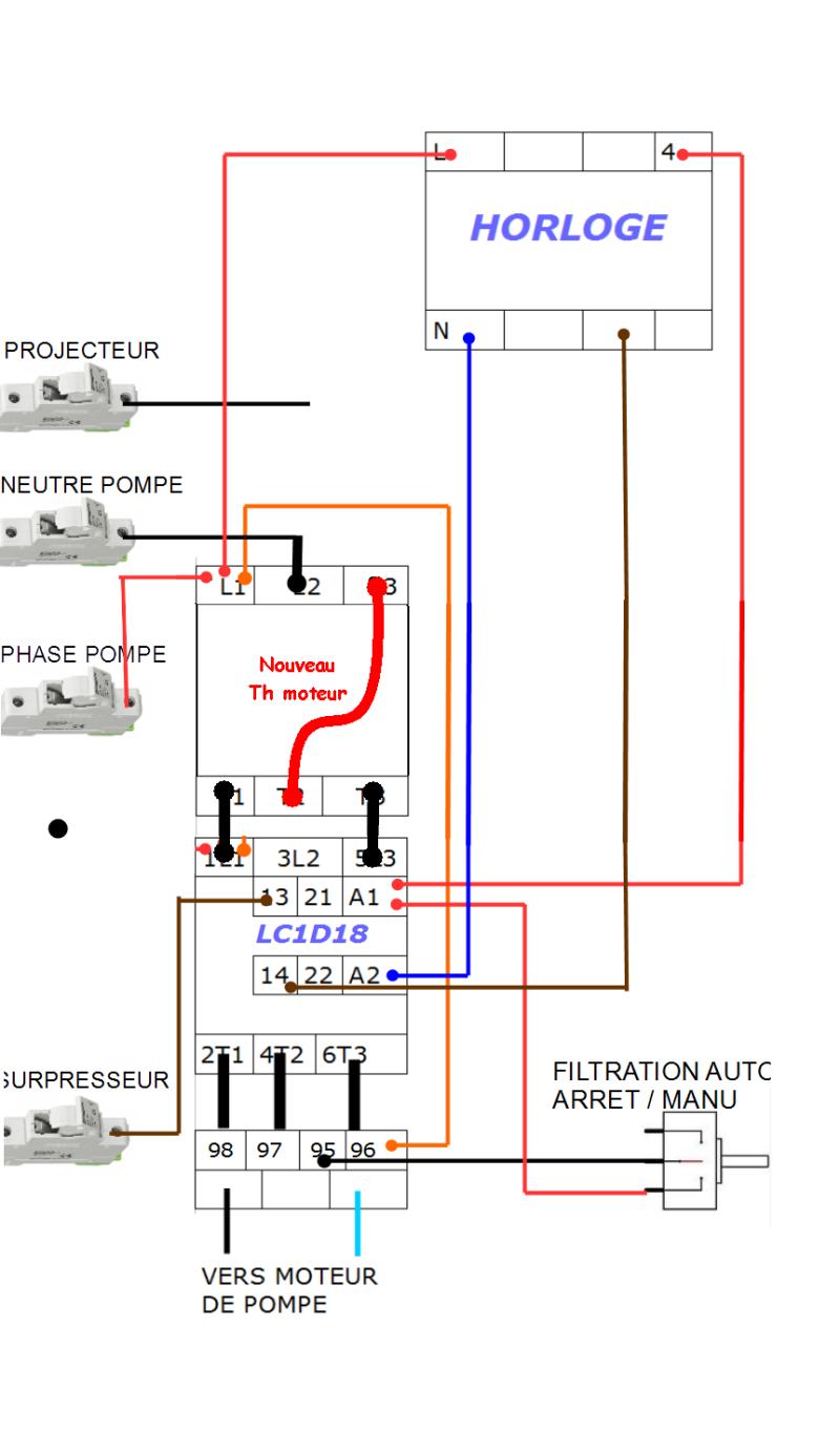 Branchement disjoncteur magnéto-thermique Scema_11