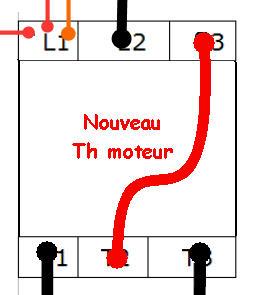 Branchement disjoncteur magnéto-thermique Thermi10