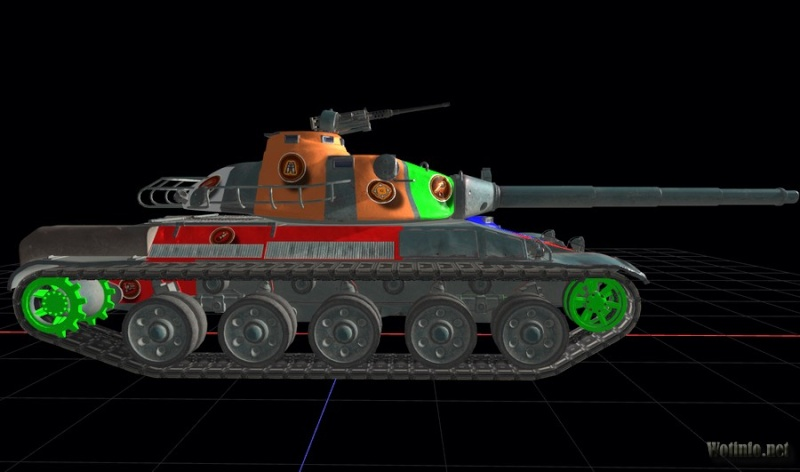 AMX 30 1er prototype Amx_3012