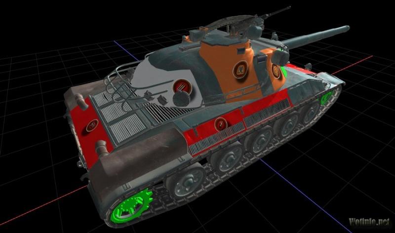 AMX 30 1er prototype Amx_3015