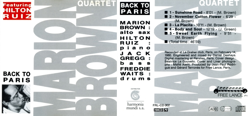 [Jazz] Playlist - Page 20 Marion18