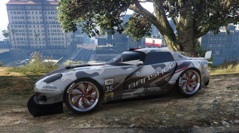GTA V: votre garage Banshe10