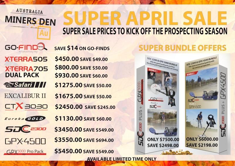April Super Specials & GPX/SDC Bundles are Back! Aprils10