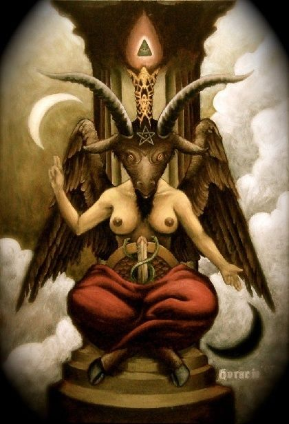 Satan - Le nombre 495 L'arbre de mort Baphom10